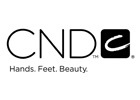 We use CND hair products.